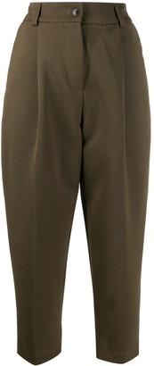 Danielapi cropped high-waist trousers