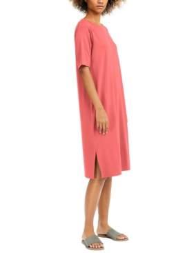 Eileen Fisher Round-Neck T-Shirt Dress