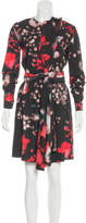 Cacharel Abstract Print A-Line Dress