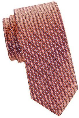 Eton Dotted Silk Tie