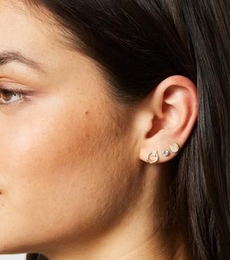 New Look 9 Pack Diamante Mixed Stud Earrings