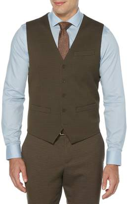 Perry Ellis Dressy Essentials Textured Vest