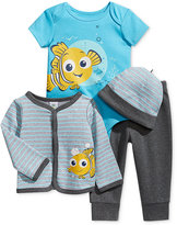 Nannette Baby Boys' 4-Pc. Nemo Hat, Jacket, Bodysuit & Pants Set
