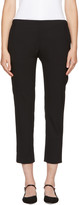 6397 Black Pull On Trousers