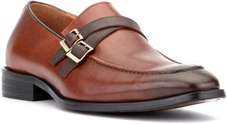 Vintage Foundry Men's Giovanni Double-Buckle Dress Loafers