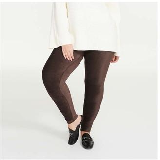 Joe Fresh Women+ Cord Legging, Grey (Size 2X)