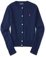 Ralph Lauren Wool Long-Sleeve Cardigan