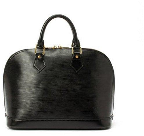 Louis Vuitton Pre-owned: black epi leather Alma'