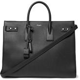 Saint Laurent Sac De Jour Large Full-grain Leather Tote Bag - Black