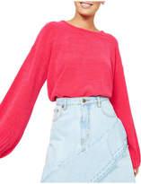 MinkPink Soft Touch Blouson Crop Knit