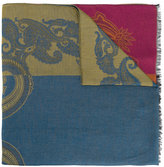 Etro embroidered scarf