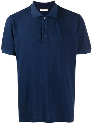 Etro Paisley Embroidered Polo Shirt