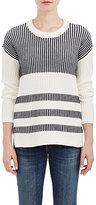 Barneys New York WOMEN'S STRIPED SWEATER