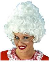 Fun World Costumes Fun World Women's Santa Wig Rvb