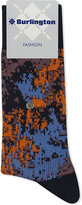 Burlington Abstract print cotton-blend socks