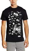 Star Wars Men's Star Fighters Short Sleeve T-Shirt
