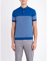John Smedley Kiefer Knitted Polo Shirt