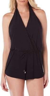 Magicsuit Solid Bianca Romper Swimsuit