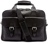 Aspinal Of London Harrison Overnight Business Bag Black