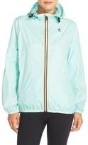 K-Way Women's 'Le Vrai Claudette 3.0' Waterproof Raincoat