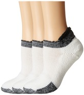 Thorlos Thick Cushion Tennis Rolltop 3-Pair Pack Women's No Show Socks Shoes