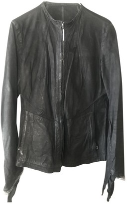 Isaac Sellam Black Leather Jacket for Women