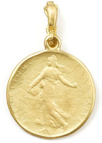 Dominique Cohen Goddess 18k Yellow Gold Classic Coin Enhancer