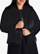 Yumi Curves Faux Fur Jacket