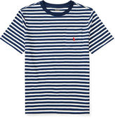 Ralph Lauren 8-20 Striped Cotton Pocket Tee