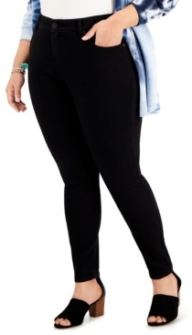 Style&Co. Style & Co Plus Size High-Rise Skinny Jeans, Created for Macy's