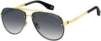 Marc Jacobs Gradient Aviator Sunglasses