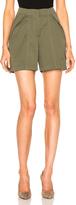 Monse Cotton Canvas Shorts