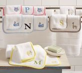 Pottery Barn Kids Colorbocked Washcloth Set