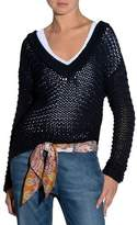 Eleventy Hand-Knit V-Neck Sweater