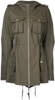 Dion Lee cargo parka jacket - women - Cotton - 6