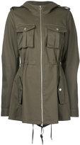 Dion Lee cargo parka jacket