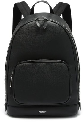 Burberry Rocco Palmellato-leather Backpack - Black