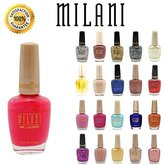 Lot of 10 Milani Finger Nail Polish Color Lacquer All Different Colors No Repeats