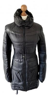 BOSS ORANGE Black Cotton Coats