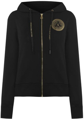 Versace Jeans Couture Round Logo Hoodie