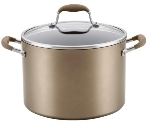 Anolon Advanced Home Hard-Anodized Nonstick 10-Qt. Wide Stockpot