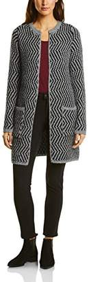 Street One Women's 252601 Cardigan, Frost Grey Melange 21119