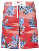 DSQUARED2 palm print swim shorts