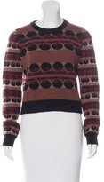 Rochas Wool Abstract Patterned Sweater