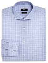 Boss Windowpane Slim Fit Dress Shirt