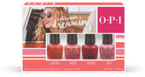 OPI California Dreaming Collection Nail Lacquer 4 Pack