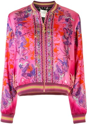 Camilla Tropic of Neon bomber jacket