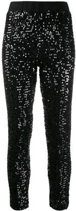 P.A.R.O.S.H. embellished cropped trousers