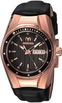 Technomarine Women's 'Cruise' Quartz Gold and Silicone Casual Watch, Color: (Model: TM-115387)