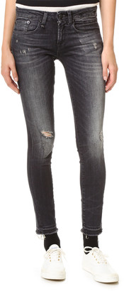 R 13 Alison Cropped Jeans